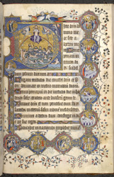 Last Judgement and Passion of Christ, in the St.-Omer Psalter